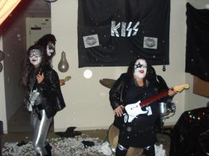 A KISS concert